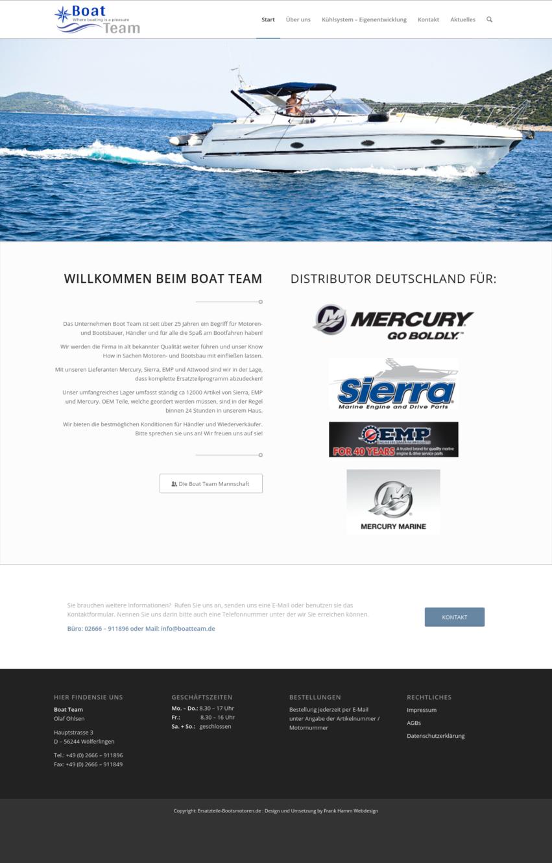Boat Team-Screenshot-neue Website